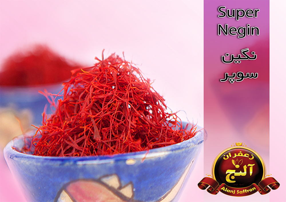 Export Negin Alanj saffron